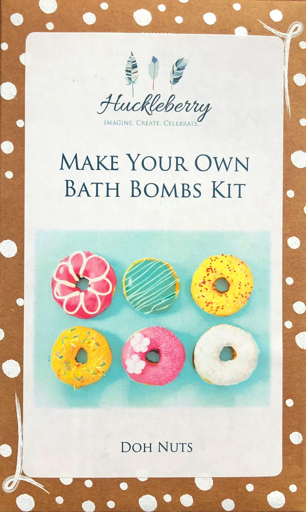 Huckleberry - Make your own Bath Bombs Kit - Donuts
