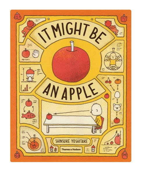 It might be an apple by Shinsuke Yoshitake