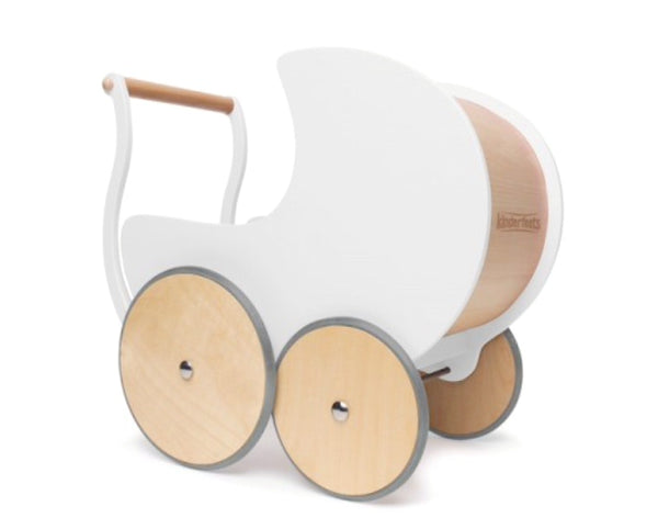 Kinderfeet - Walker Pram in white