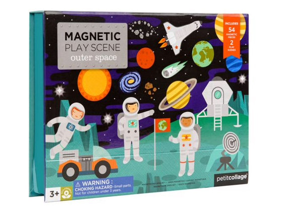 Petite Collage - Magnetic Play Scene, Outer Space