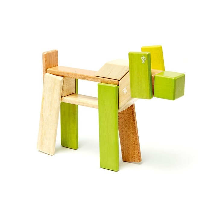 Tegu- Magnetic Wooden Blocks jungle