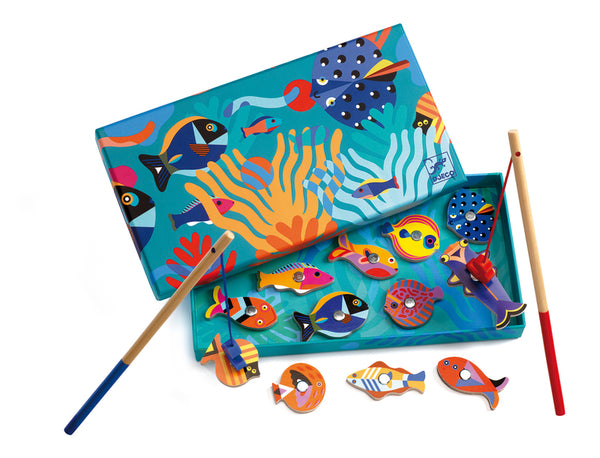 Djeco - Wooden Magnetic Fishing