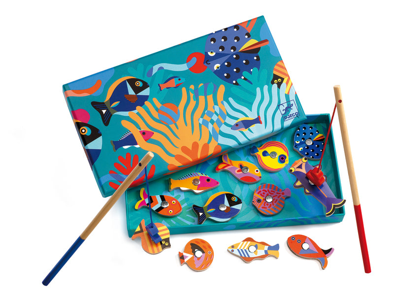 Djeco - Wooden Magnetic Fishing Graphic