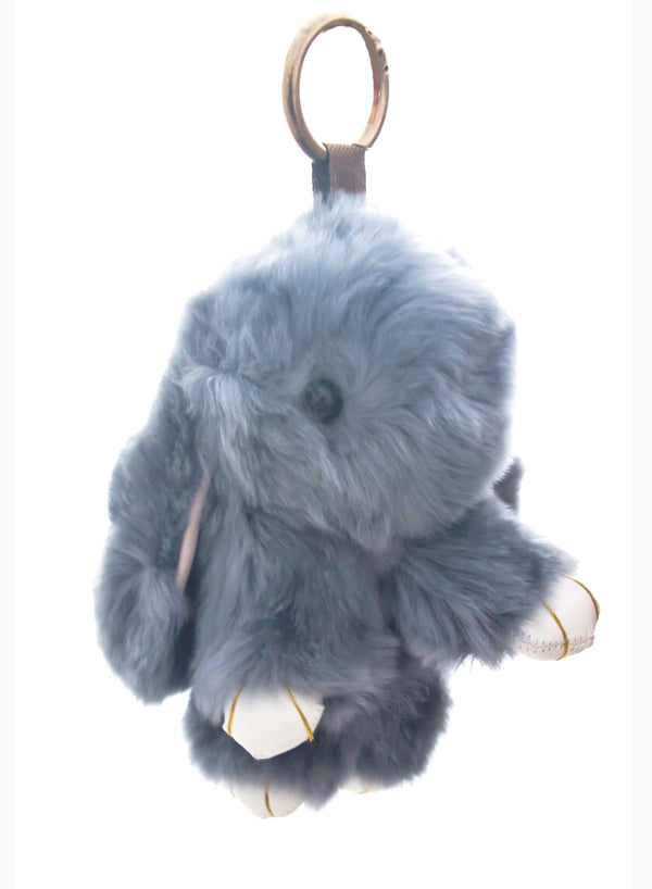 Huckleberry - Bunny Bag Charms in Grey
