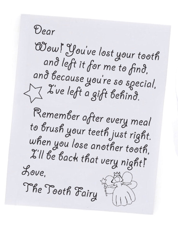 Tooth Fairy Boxes Blue