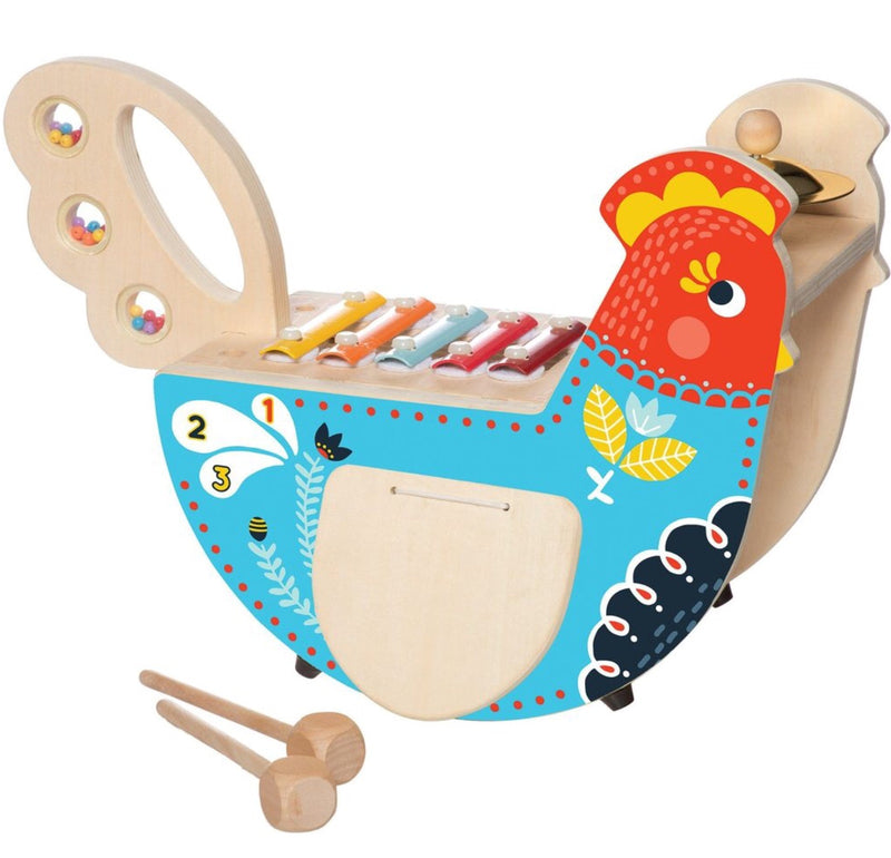 Manhattan - Wooden Musical Chicken