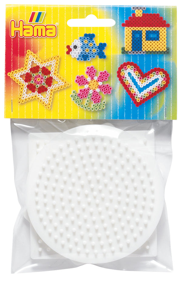 Hama -  Pegboards Small, Circle, Square, Hexagonal