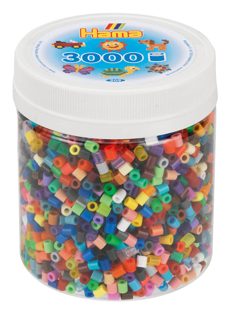 Hama - Bead Tub 3,000 All colours