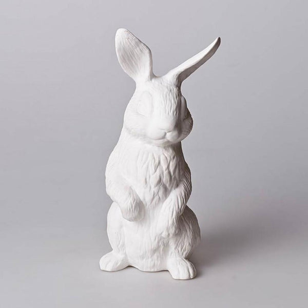 Ceramic rabbit lamp is a beautiful addition to any childs bedroom and nursery