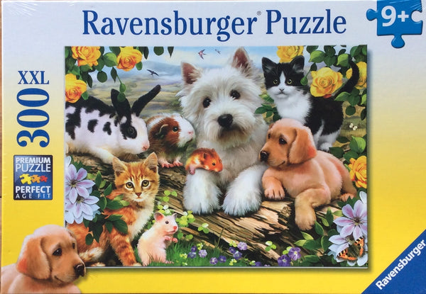 A beautiful puzzle full of Gorgeous animals. Puzzle sizes 49 x 36 cm Box Size 32 x 23 x 3 cm Recommended age 9+