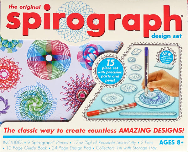 Spirograph - Original Spirograph Design Set in Tin