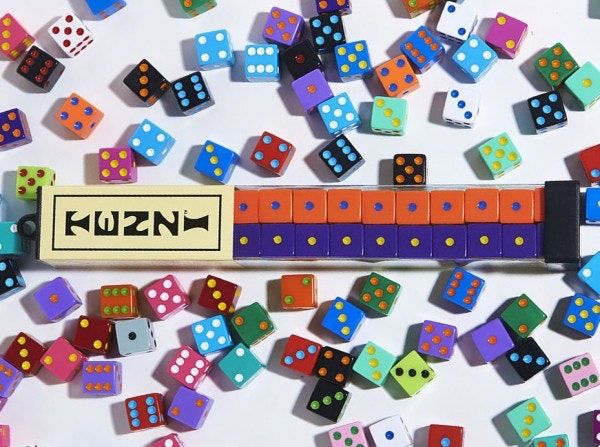 Tenzi Dice game is great for age7+ .Nine games to play with instructions.