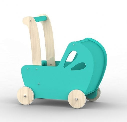 wooden-pram-teal-in-aqua