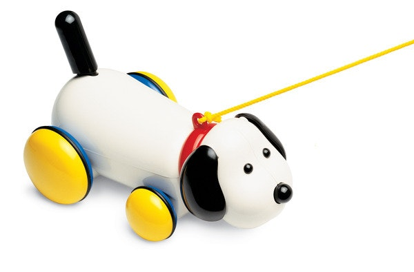 Max the Dog by Ambi toys . A gorgeous pull along plastic dog. Length 25 cm Recommended age 1+