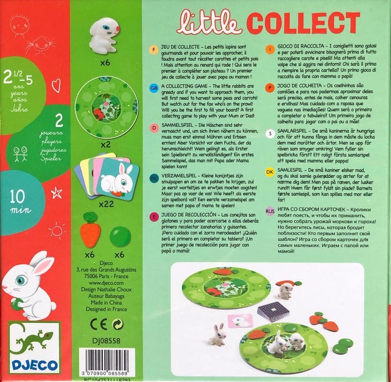 Djeco - Game, Little Collect