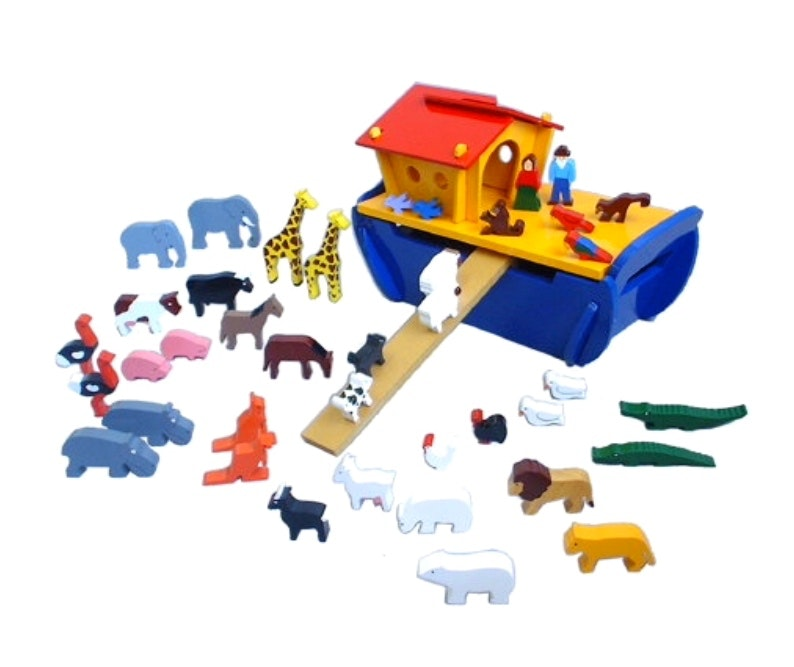 noah-s-ark-in-multi-colour-print