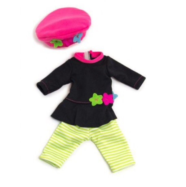 clothing-three-piece-outfit-32-cm-miniland-doll-in-multi-colour-print