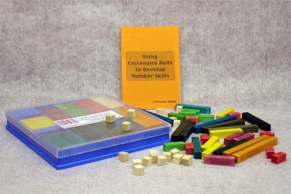 Cuisenaire - Wooden Rods - 272 pieces