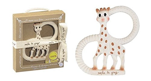 Vulli - Sophie The Giraffe Pure Teething in multi colour print
