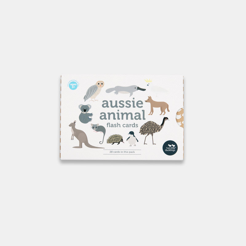 Two little ducklings - Aussie Animal Flash Cards