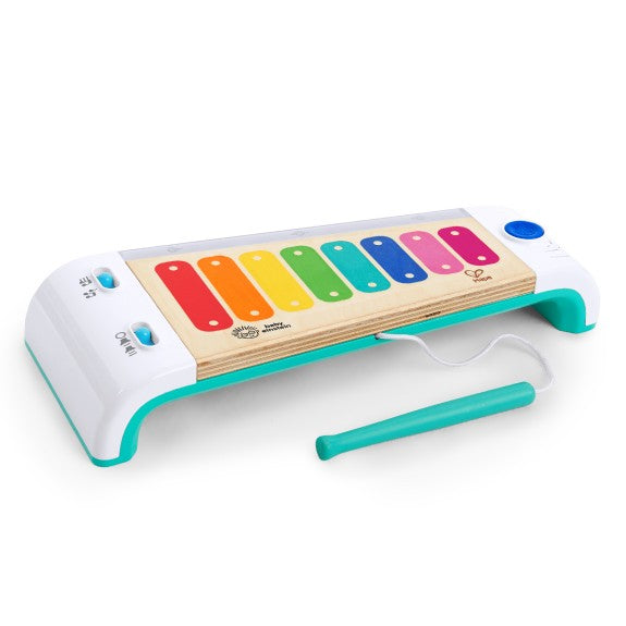 A wonderful wooden baby enstein xylophone with touch technology for ages 3 +