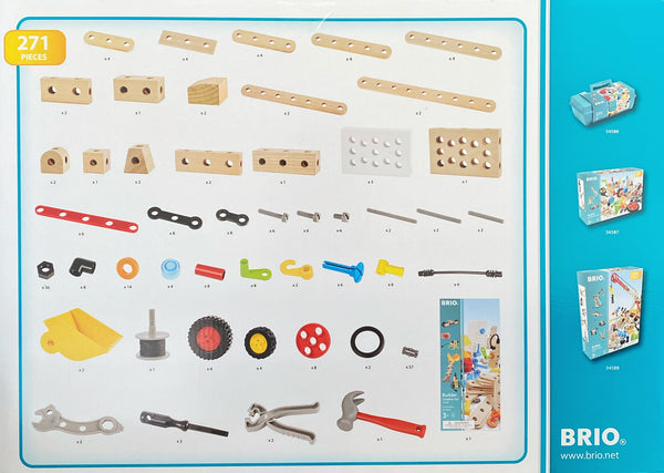 Brio - 271 Pieces Creative Building Set