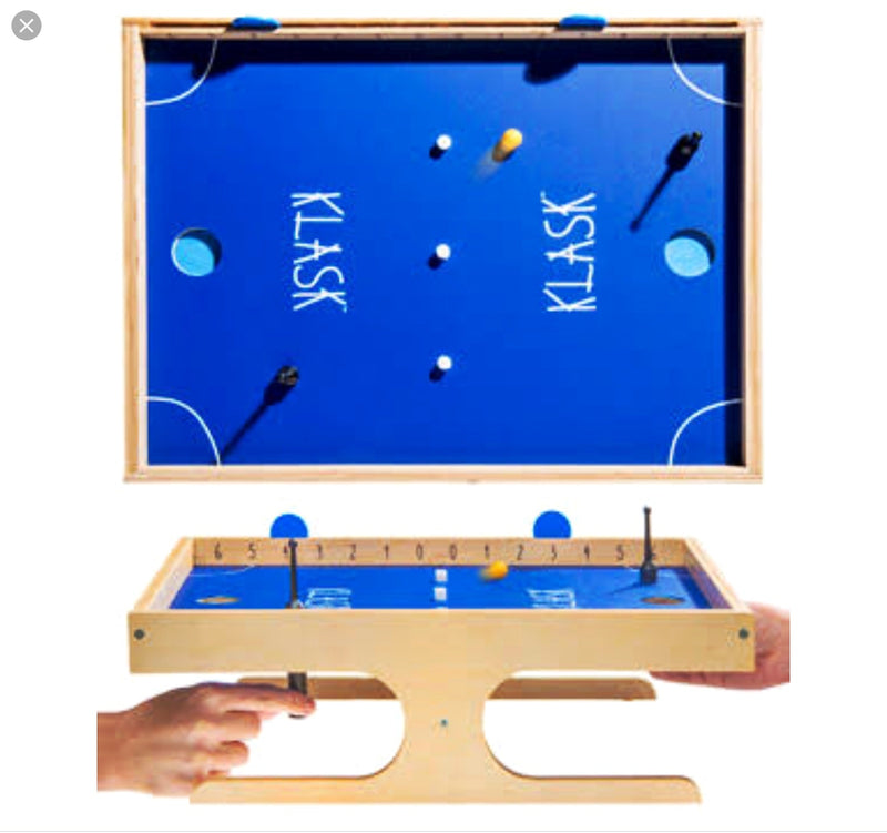 Klask - Magnetic game of skill in wood