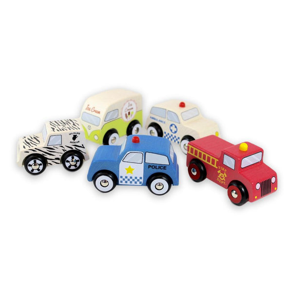 Discoveroo - Emergency Car Set