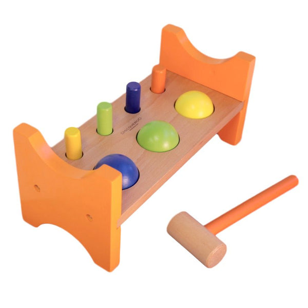 Discoveroo - Wooden Peg n Ball Smackeroo