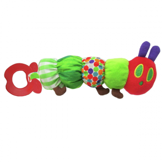 Eric Carle - Teether Rattle - The Very Hungry Caterpillar