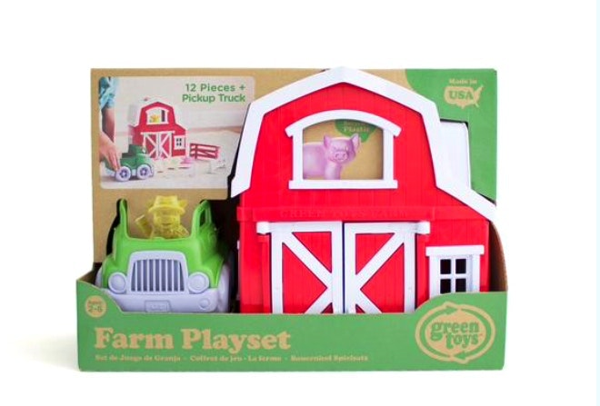 Green Toys - Farm Play Set