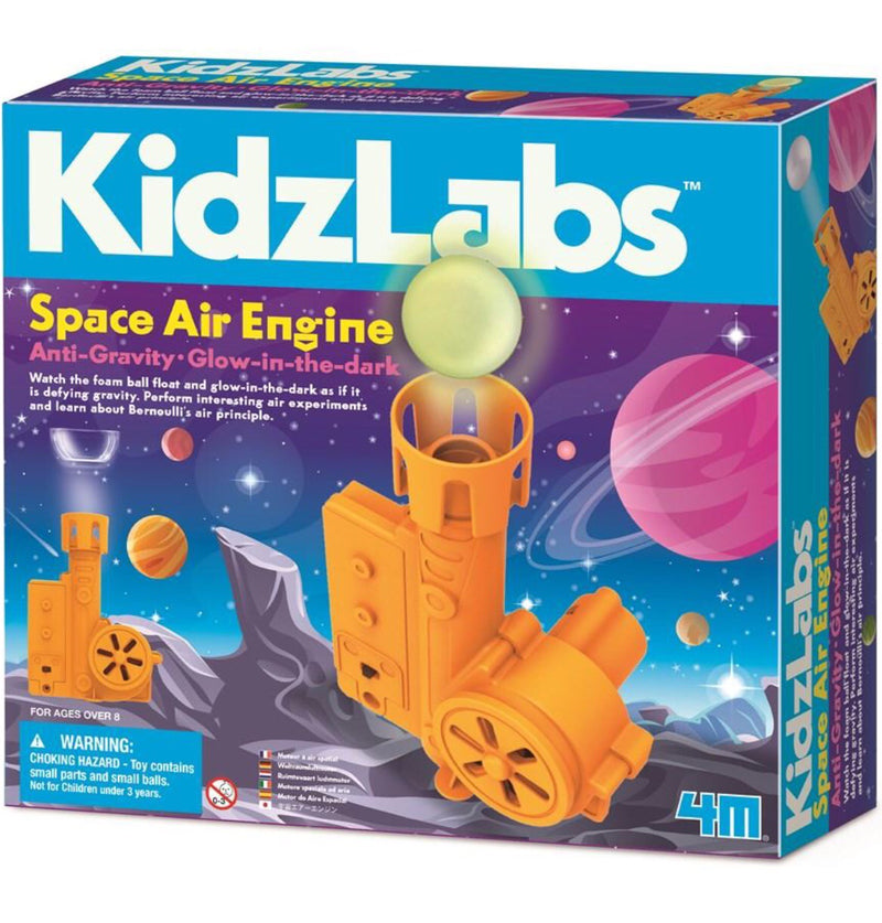 4M - Kidzlabs, Space Air Engine