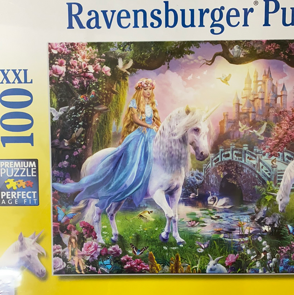 Ravensburger - Jigsaw Puzzle, 100 magical unicorns
