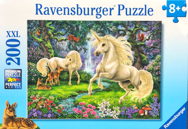 Ravensburger - Jigsaw Puzzle, 200 Pieces, Mystical Unicorns