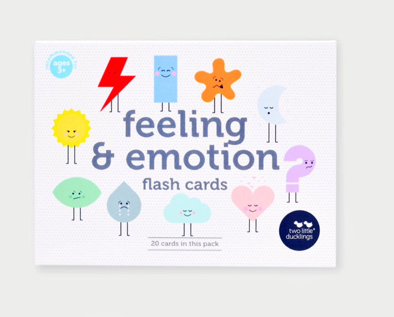 Two little ducklings - Flash cards, Feeling & emotion