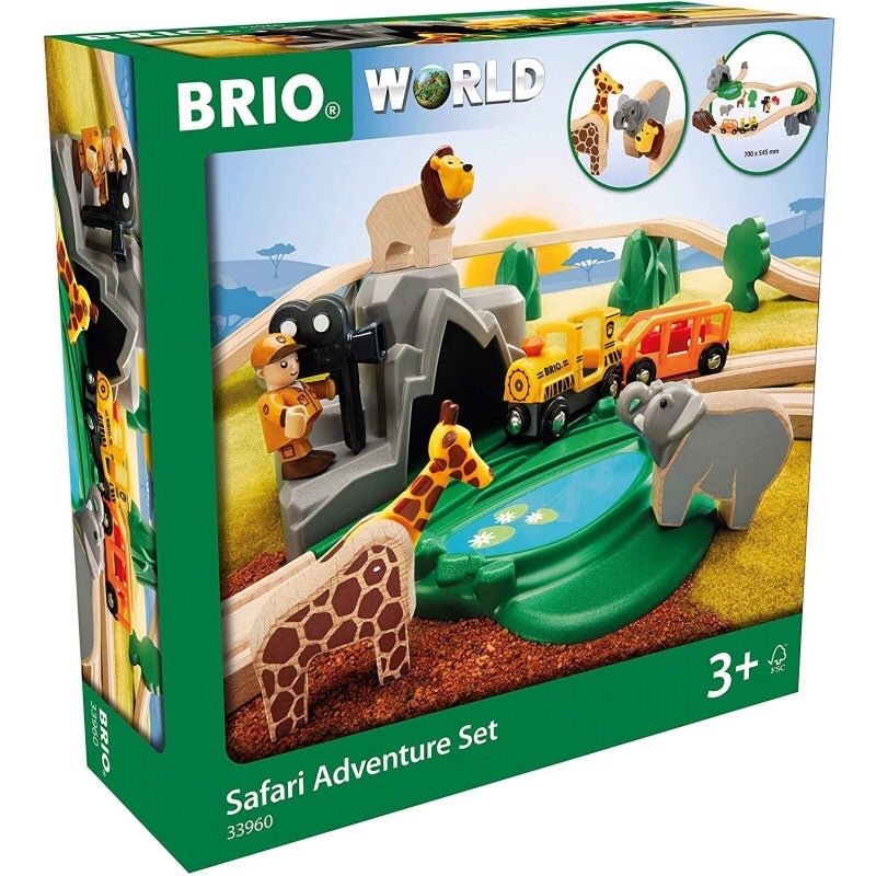 All aboard the safari train! Take an adventure and look out for all the incredible animals
