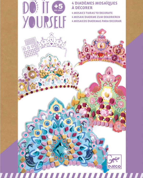 Djeco - Do it Yourself Mosaic Tiara Kit