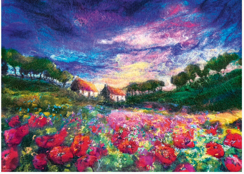 Heye  - Puzzle 1000 piece Sundown Poppy