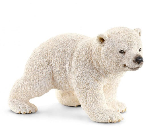 Schleich Polar bear Cub is very cute and great for imaginative play. Special detail on the undersurface of the paws. Recommended age 3+