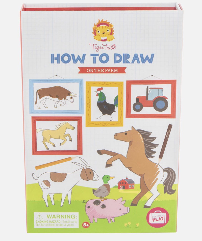 Tiger Tribe - How-to-Draw On the Farm
