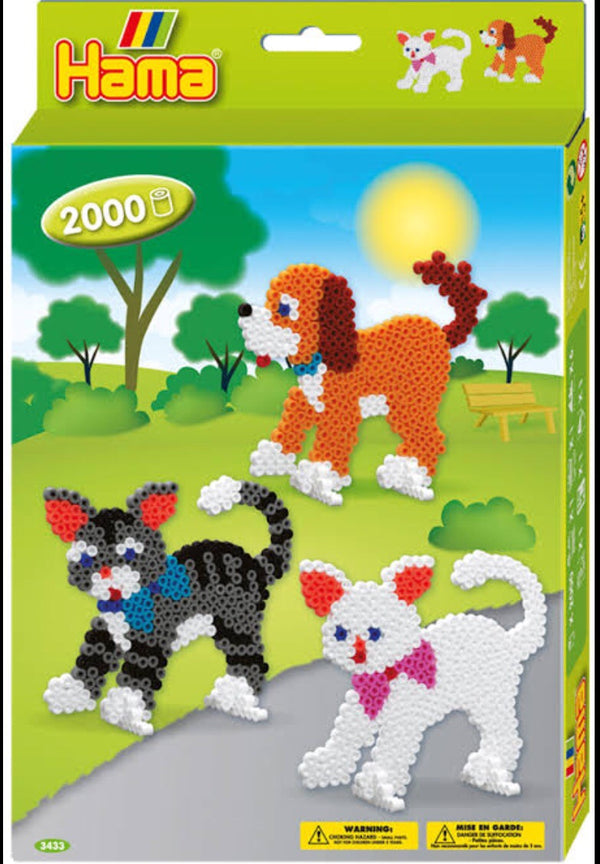 Hama - Gift Set Dogs & Cats