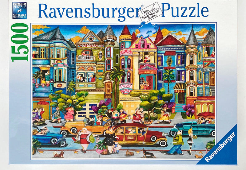 Puzzle sizes 80 x 60 cm Box Size 37 cm x 27 x 3 cm Made in Germany Recommended age 9+