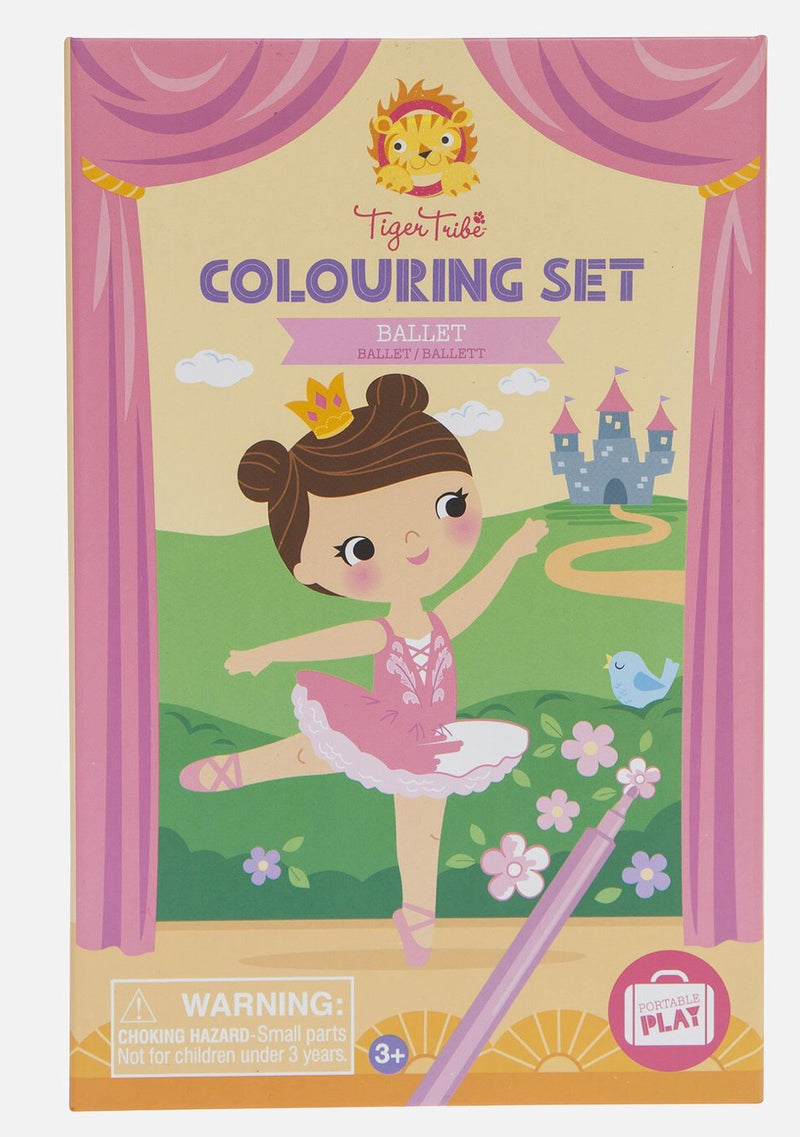Tiger Tribe - Ballet Colouring set