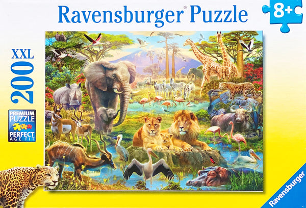 Ideal sizes, piece counts and images for all ages. A fun puzzle featuring police and firefighters. Puzzle sizes 49 x 36 cm Recommended age 8 + Made from recycled board Made in Germany