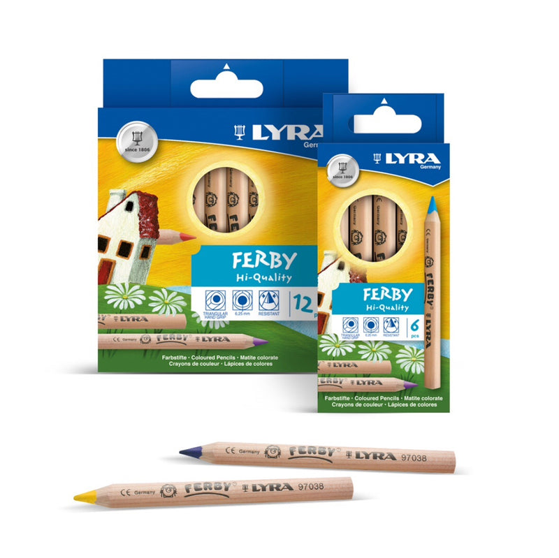Lyra - Ferby Coloured Pencils 6 pack