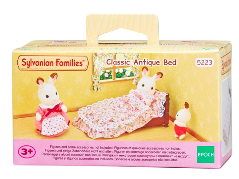 Sylvanian Families - Classic Antique Bed