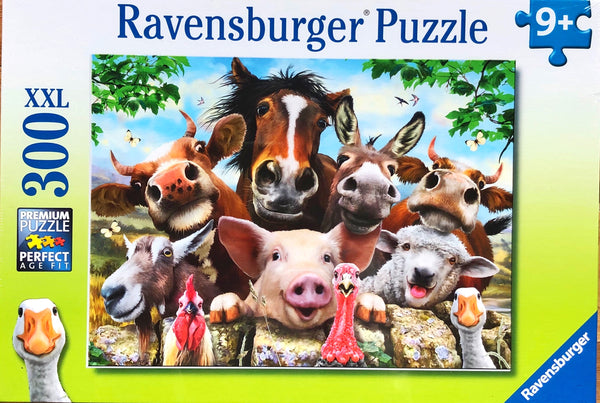 Ravensburger - Jigsaw Puzzle, 300 Pieces, Say Cheese