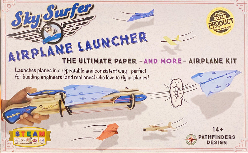 Pathfinder - Sky surfer, Airplane Launcher