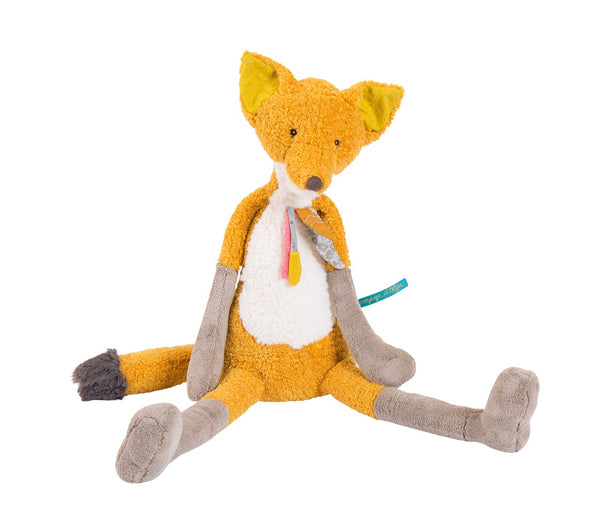 Moulin roty large fox is a wonderful present for any new born baby and child. Full of personality