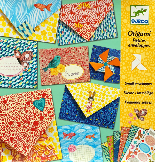 Djeco - Origami Fortune Small Envelopes